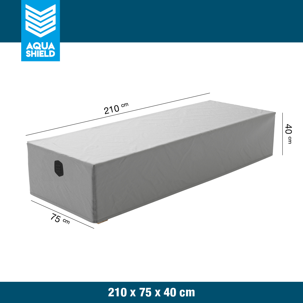 Loungebed Cover Grey
